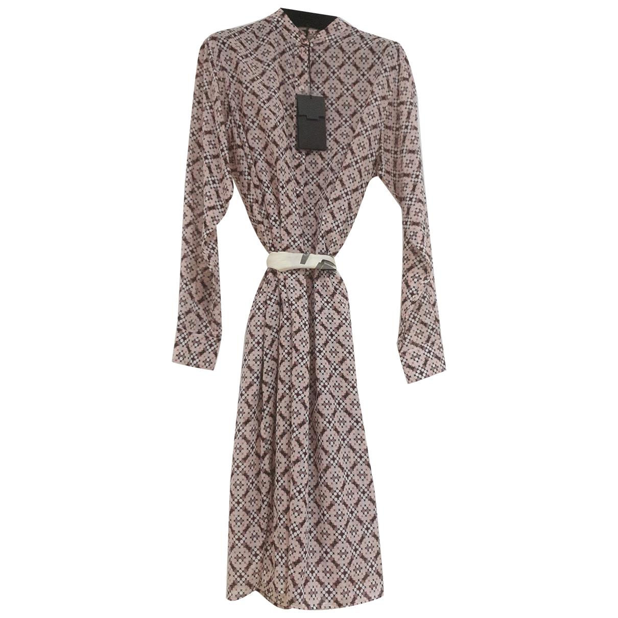 Bottega Veneta N Multicolour Cotton dress for Women 42 IT