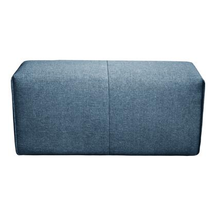 Nathaniel Collection MT-1007-19 Nathaniel Arm Blue with Solid Eucalyptus in Blue