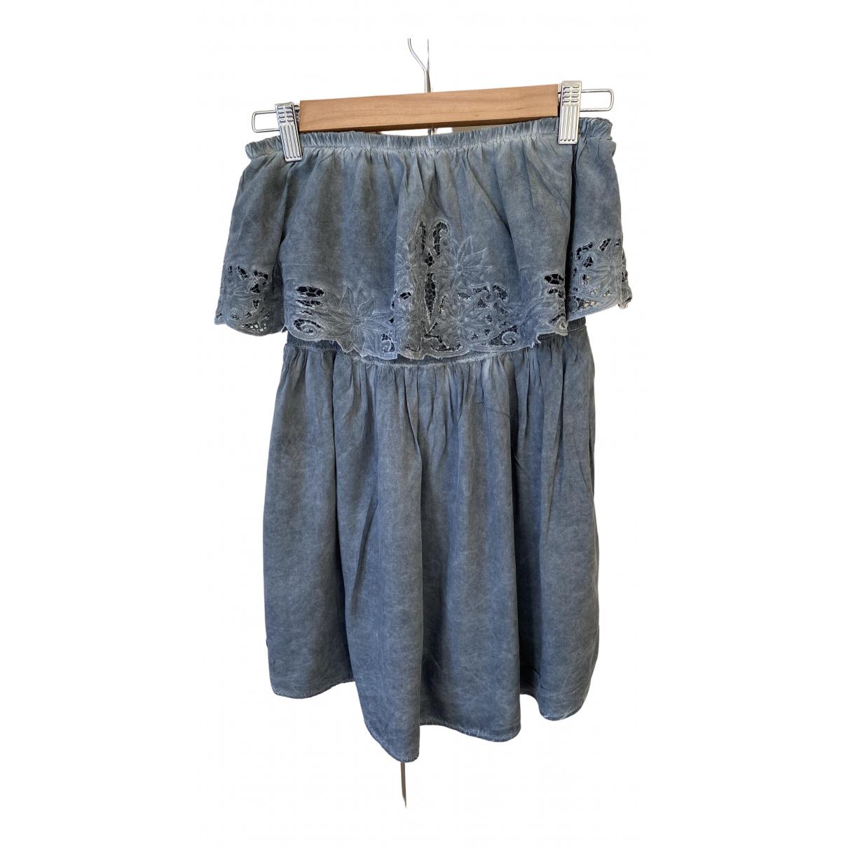 Non Signé / Unsigned N Grey Cotton jumpsuit for Women M International