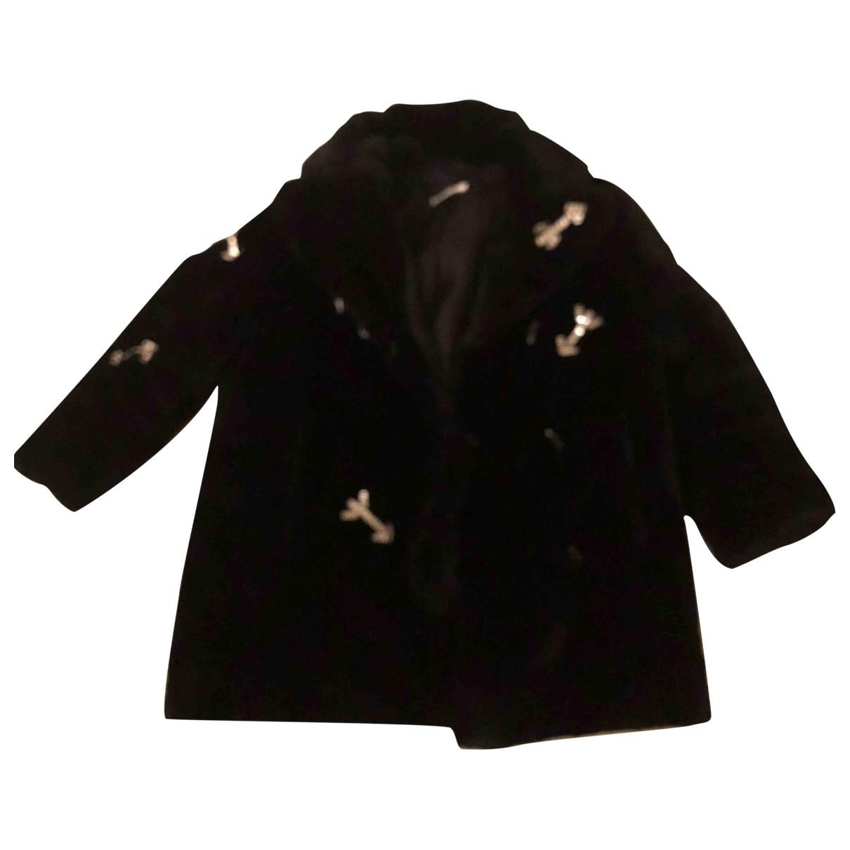 Carven \N Black Faux fur jacket for Women 36 FR