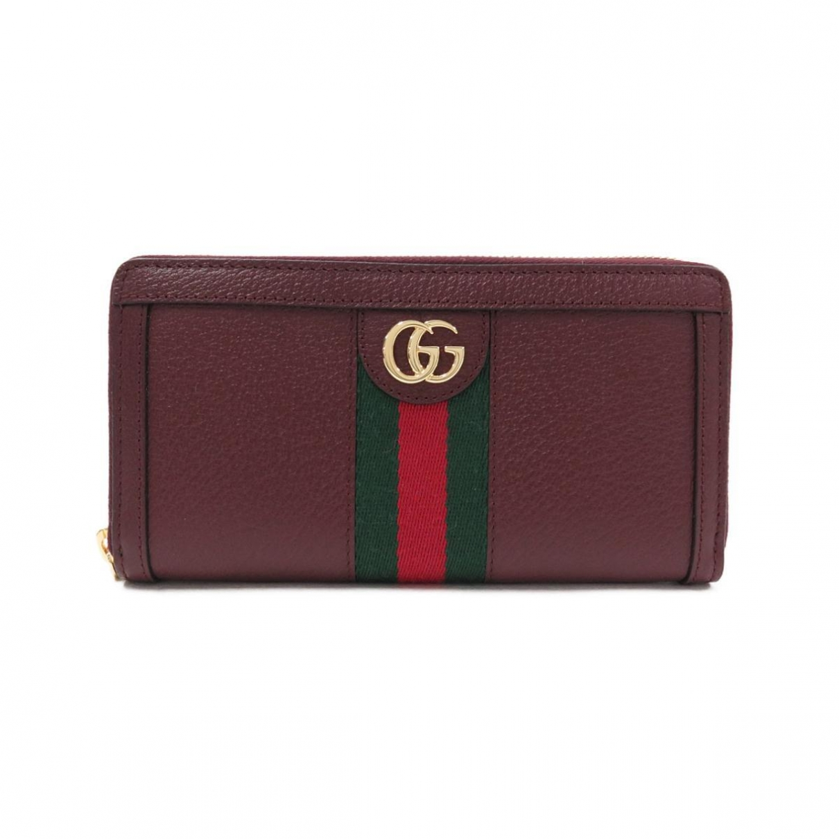 Gucci Ophidia Burgundy Leather wallet for Women \N