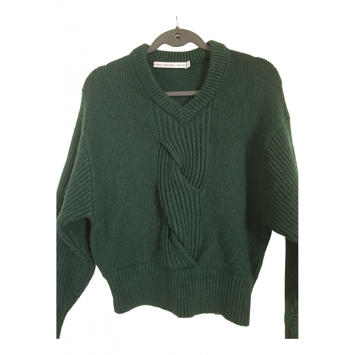 & Other Stories \N Pullover in  Gruen Wolle