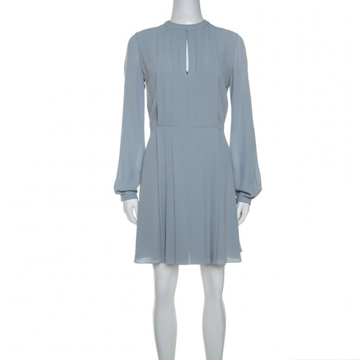 Dior \N Kleid in  Grau Seide