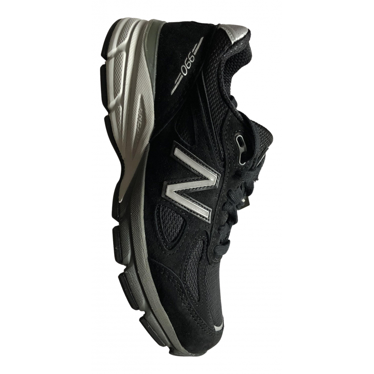 New Balance N Black Suede Trainers for Women 36.5 EU