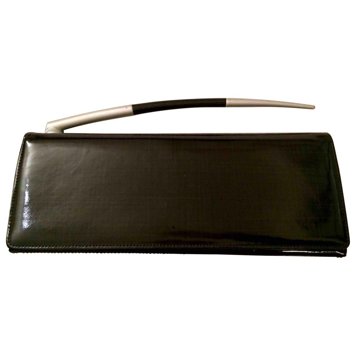 Charles Jourdan \N Black Patent leather Clutch bag for Women \N