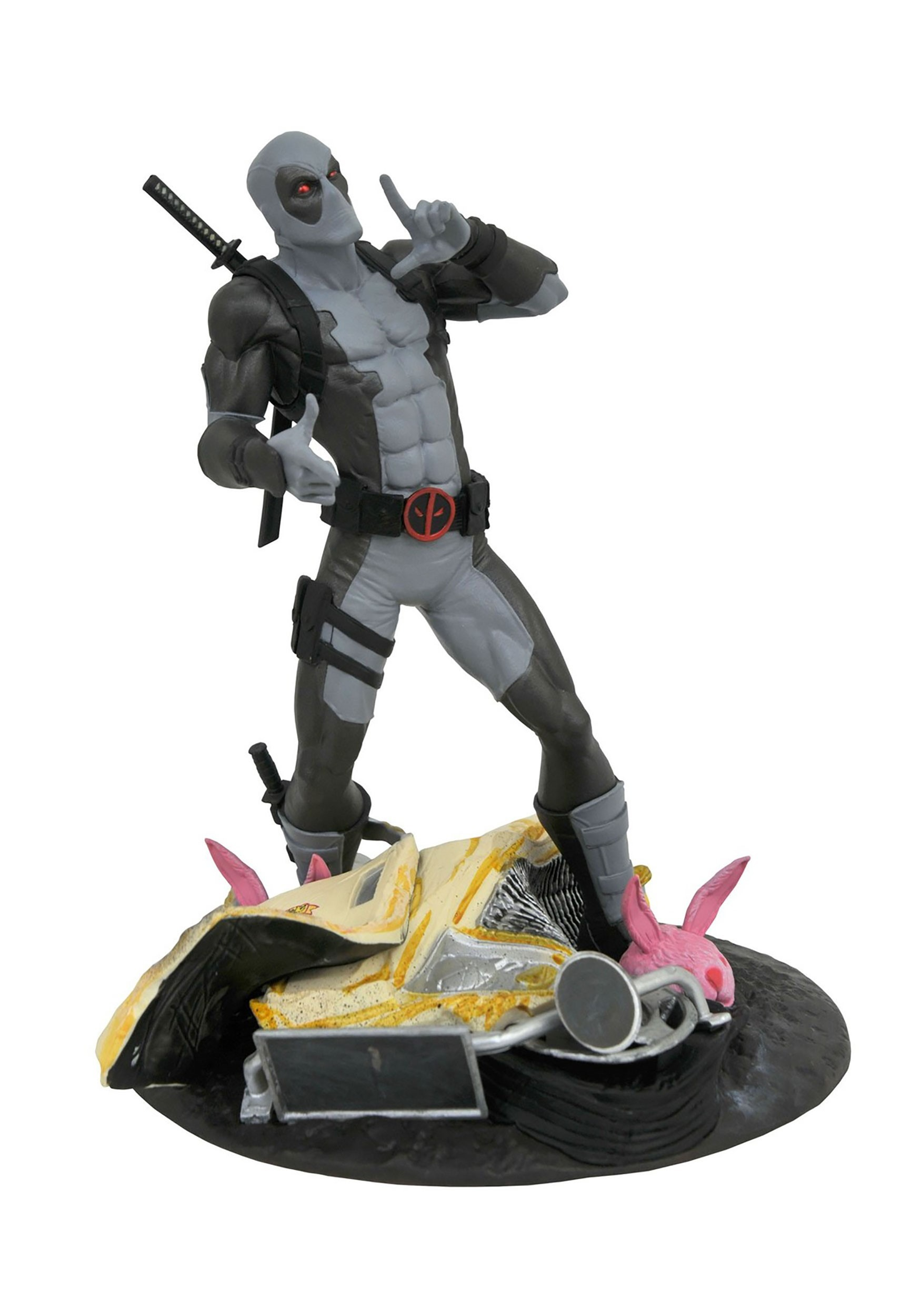 2019 SDCC Marvel Gallery Deadpool X-Force Taco Truce Statue
