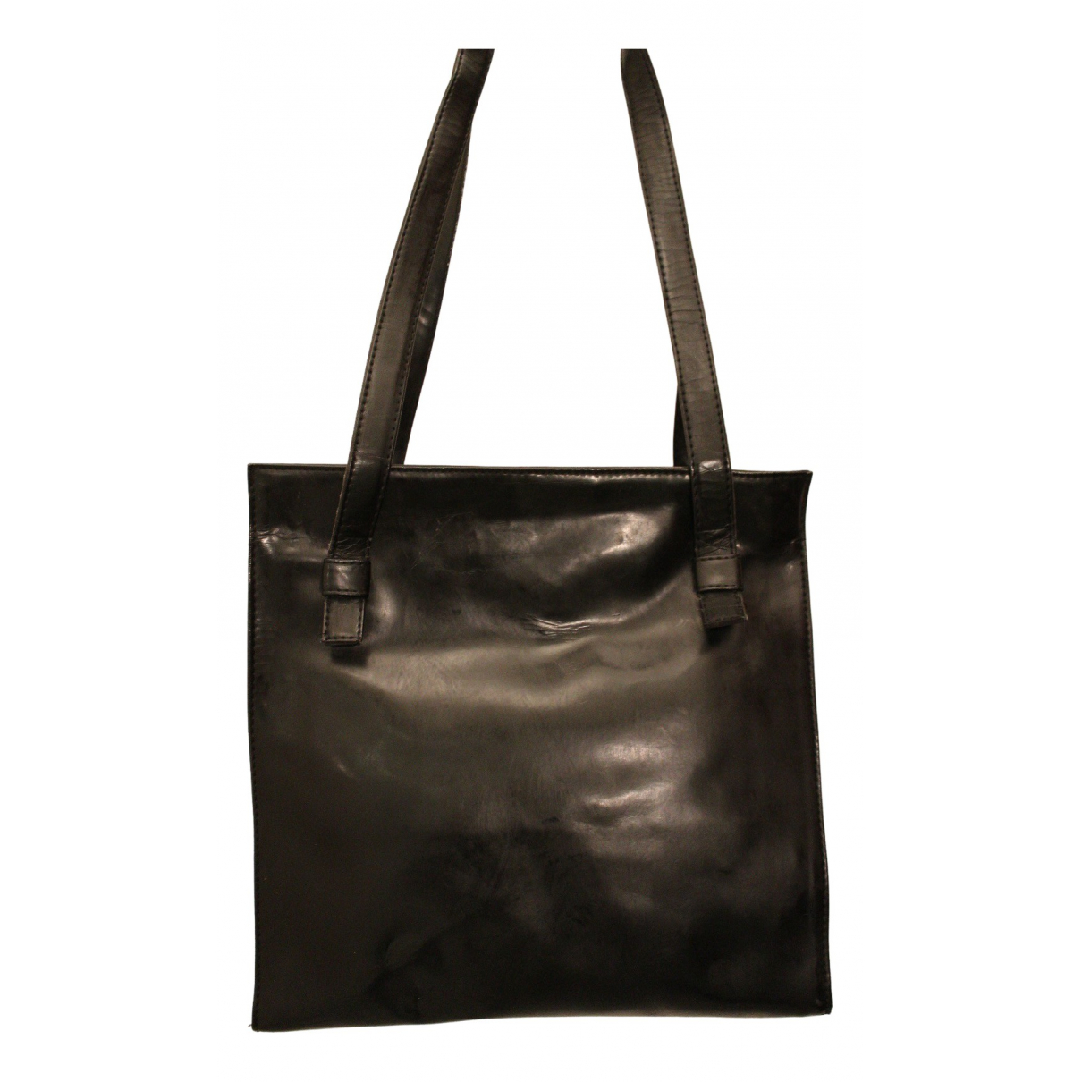 Non Signé / Unsigned N Black handbag for Women N