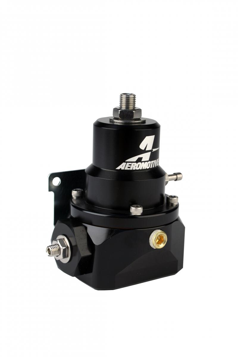 Aeromotive 13214 Fuel System Dual Adjustable Alcohol Log Regulator For Belt and Direct Drive Mechanical Pumps