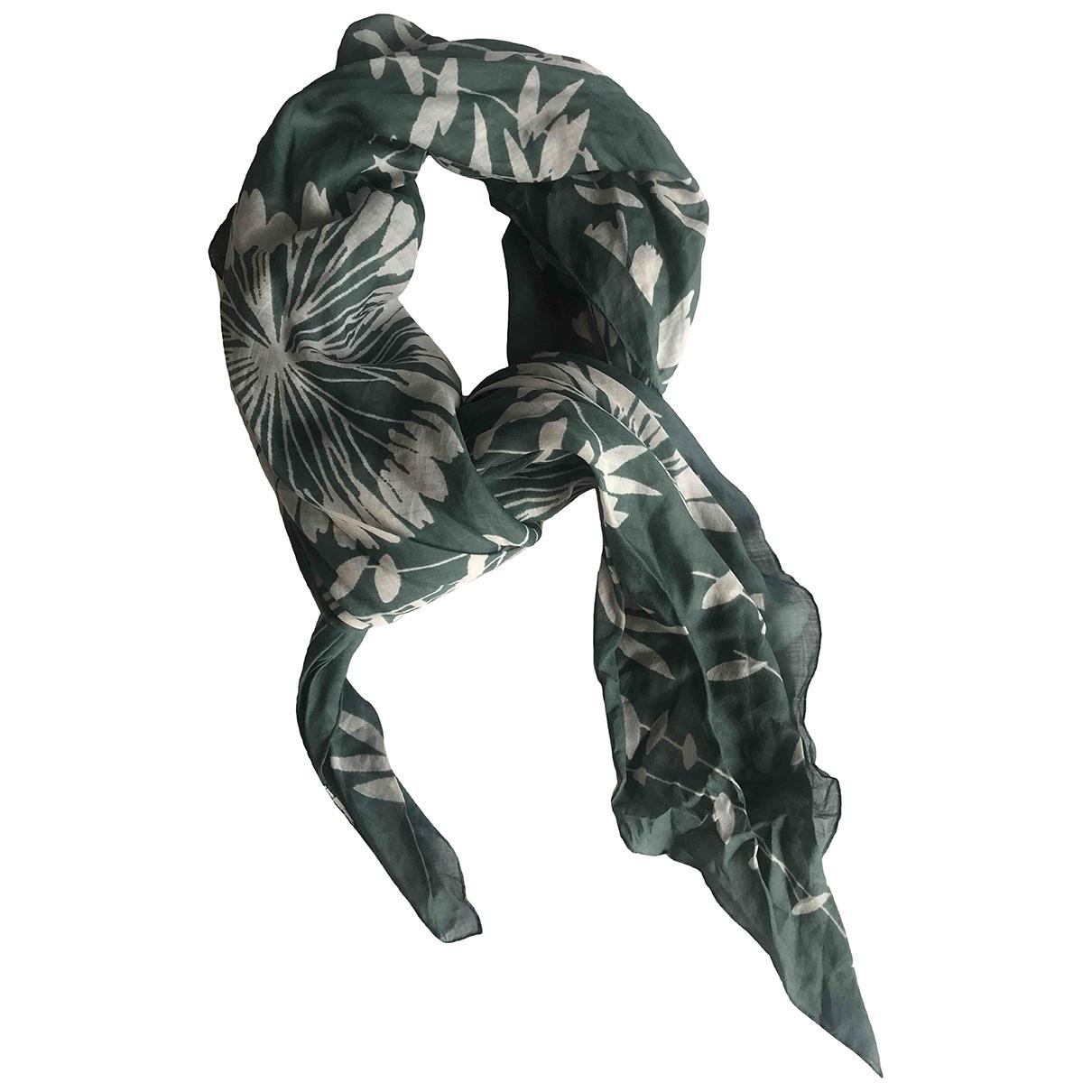 Max Mara 's \N Green Silk handkerchief for Women \N