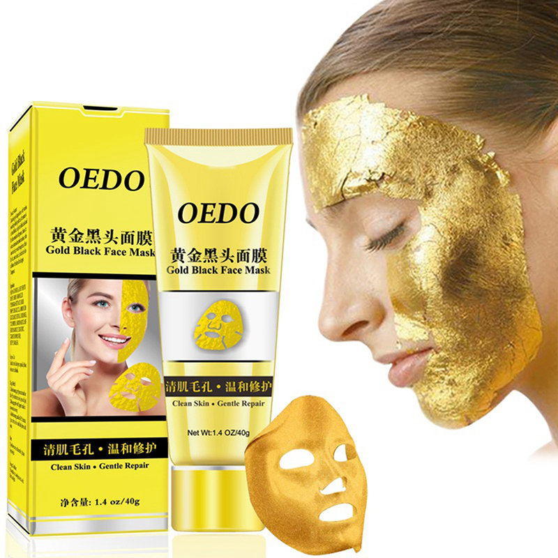 Gold Remove Blackhead Facial Tearing Mask Cleansing Face Cream Mask Face Care