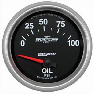 Auto Meter Sport-Comp II Electric Oil Pressure Gauge - 7627