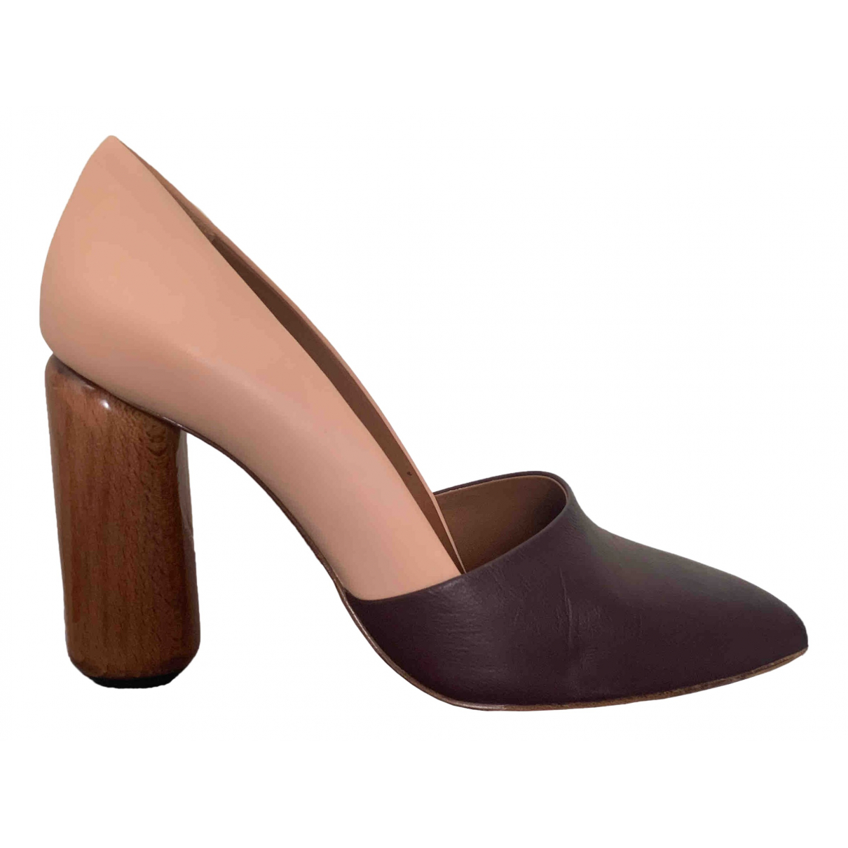 Mulberry \N Multicolour Leather Heels for Women 40 EU