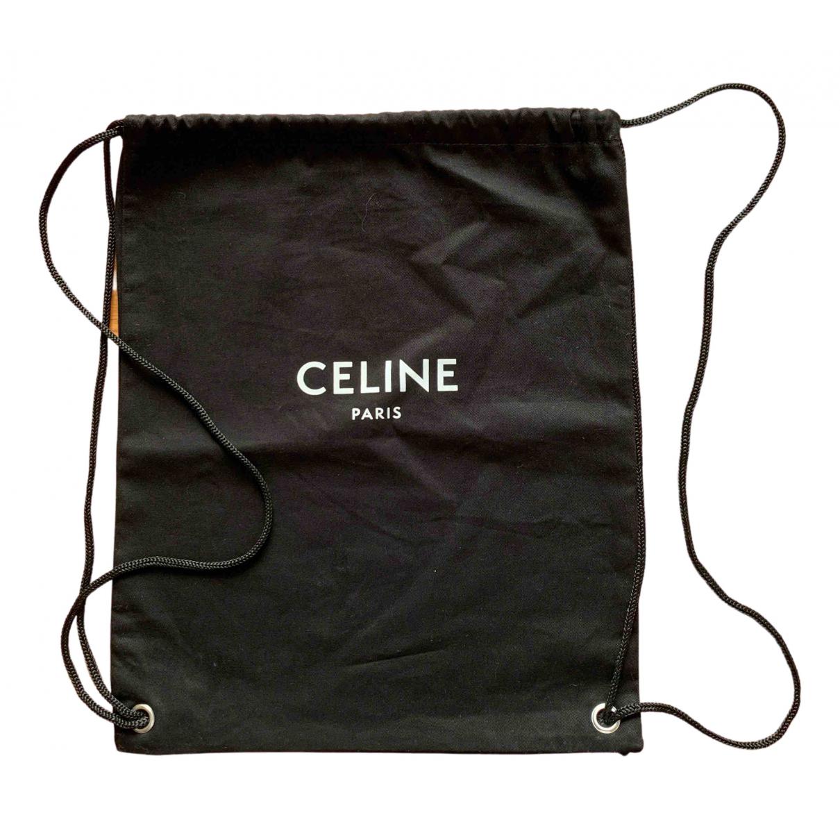 Celine \N Black Cotton bag for Men \N