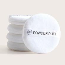 5 piezas puff de polvo
