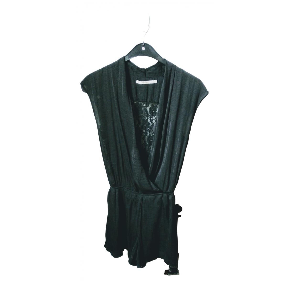Zara \N Black jumpsuit for Women 38 FR