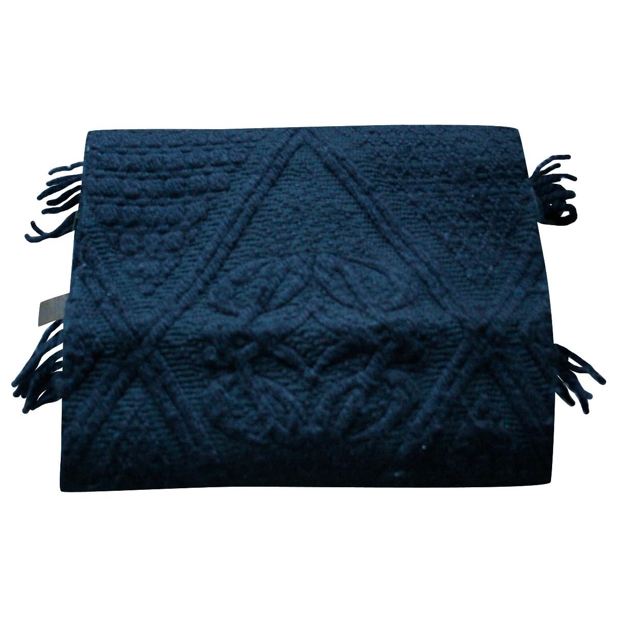 Loewe \N Black Wool scarf for Women \N