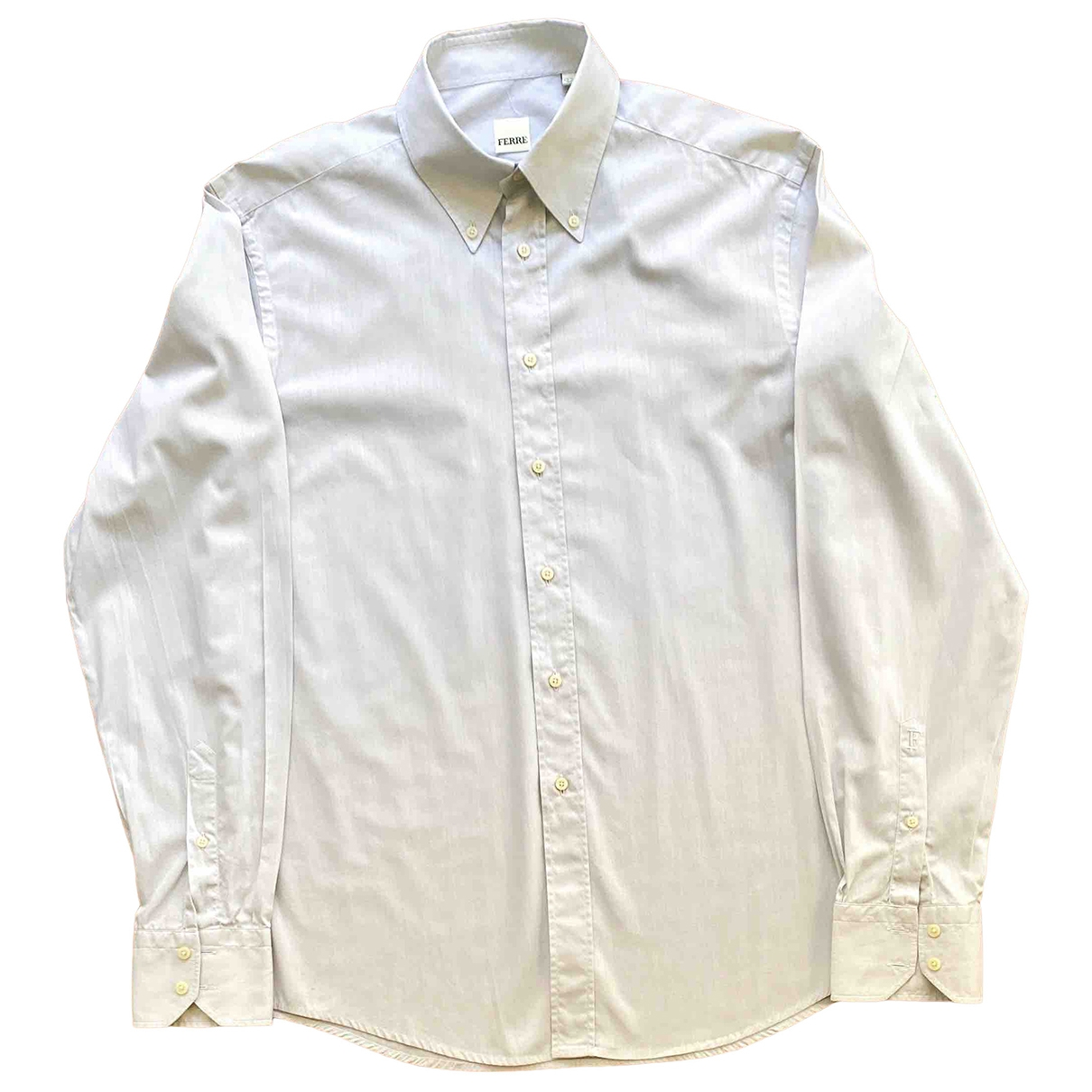 - Chemises   pour homme en coton - gris