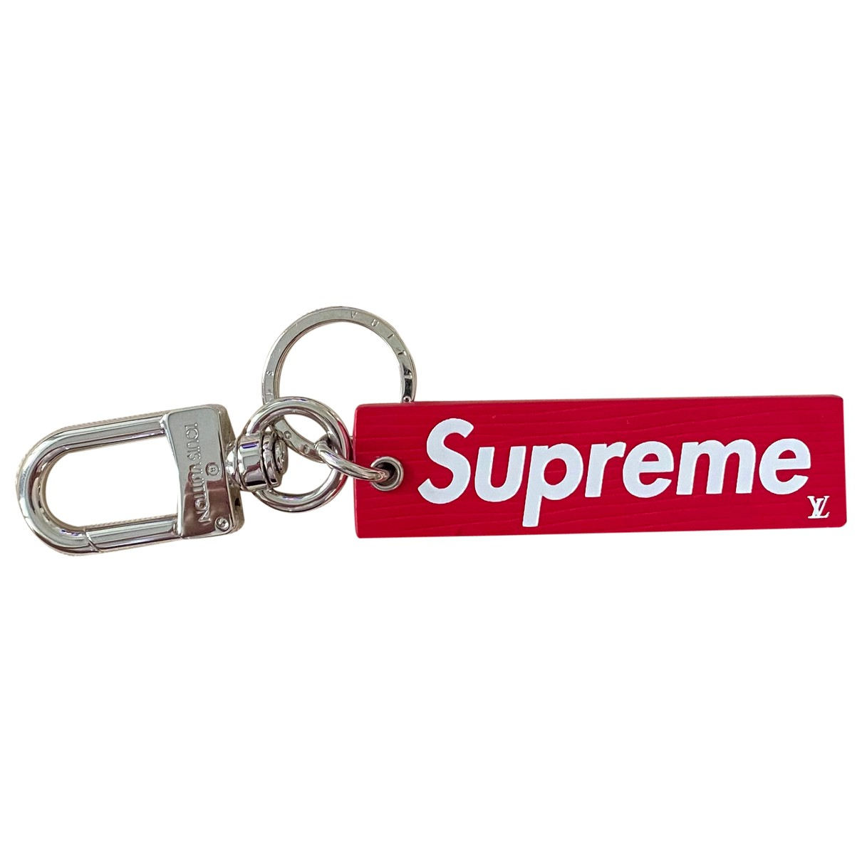 Louis Vuitton X Supreme \N Red Leather Accessories for Life & Living \N