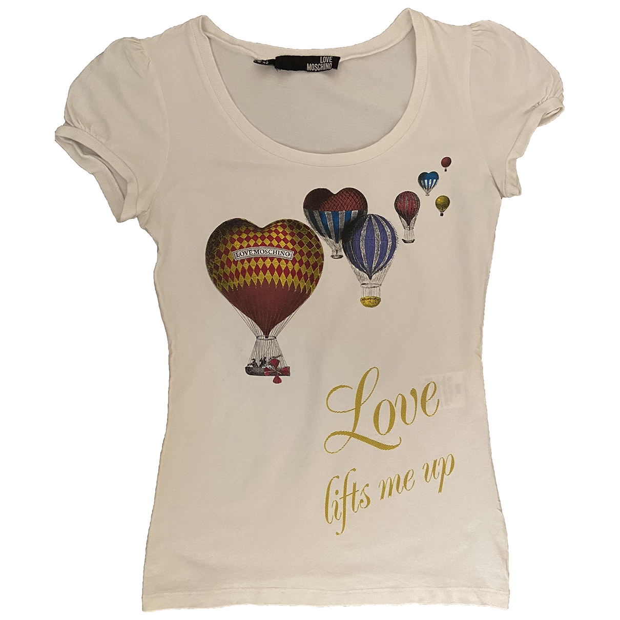 Moschino Love \N Top in  Weiss Baumwolle