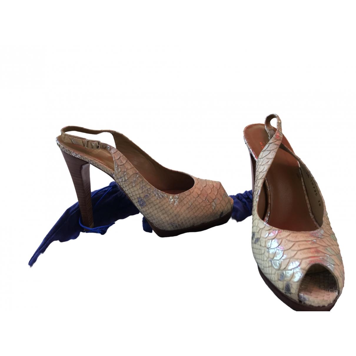 Sandalias de Cuero Stuart Weitzman