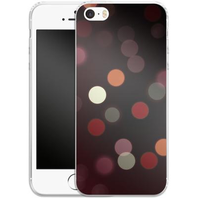 Apple iPhone 5 Silikon Handyhuelle - Bokeh von SONY