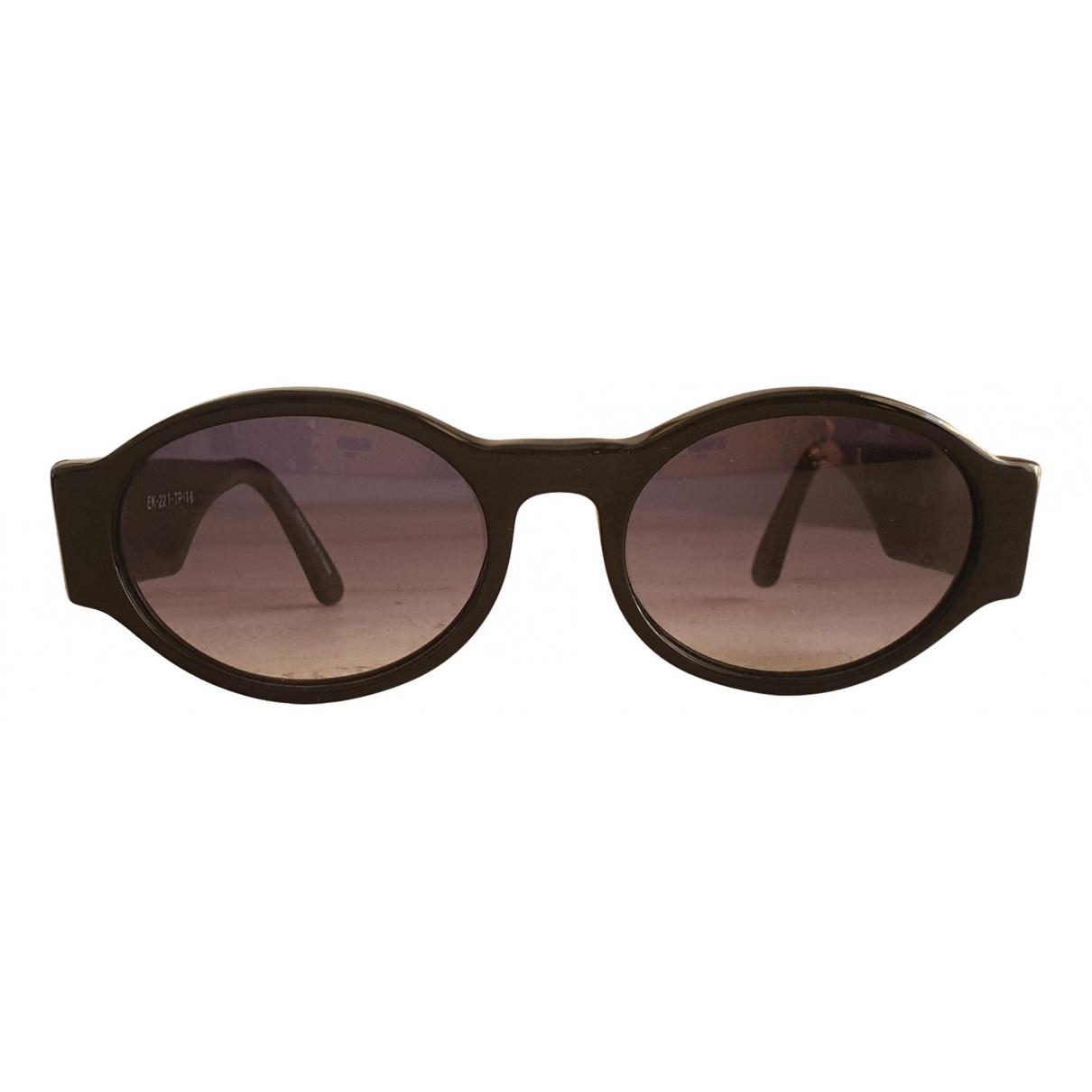 Emmanuelle Khanh \N Black Sunglasses for Women \N
