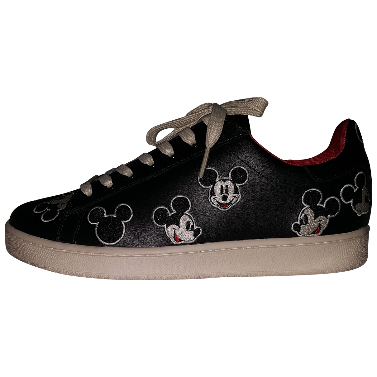 Moa Master Of Arts \N Black Leather Trainers for Women 40 EU