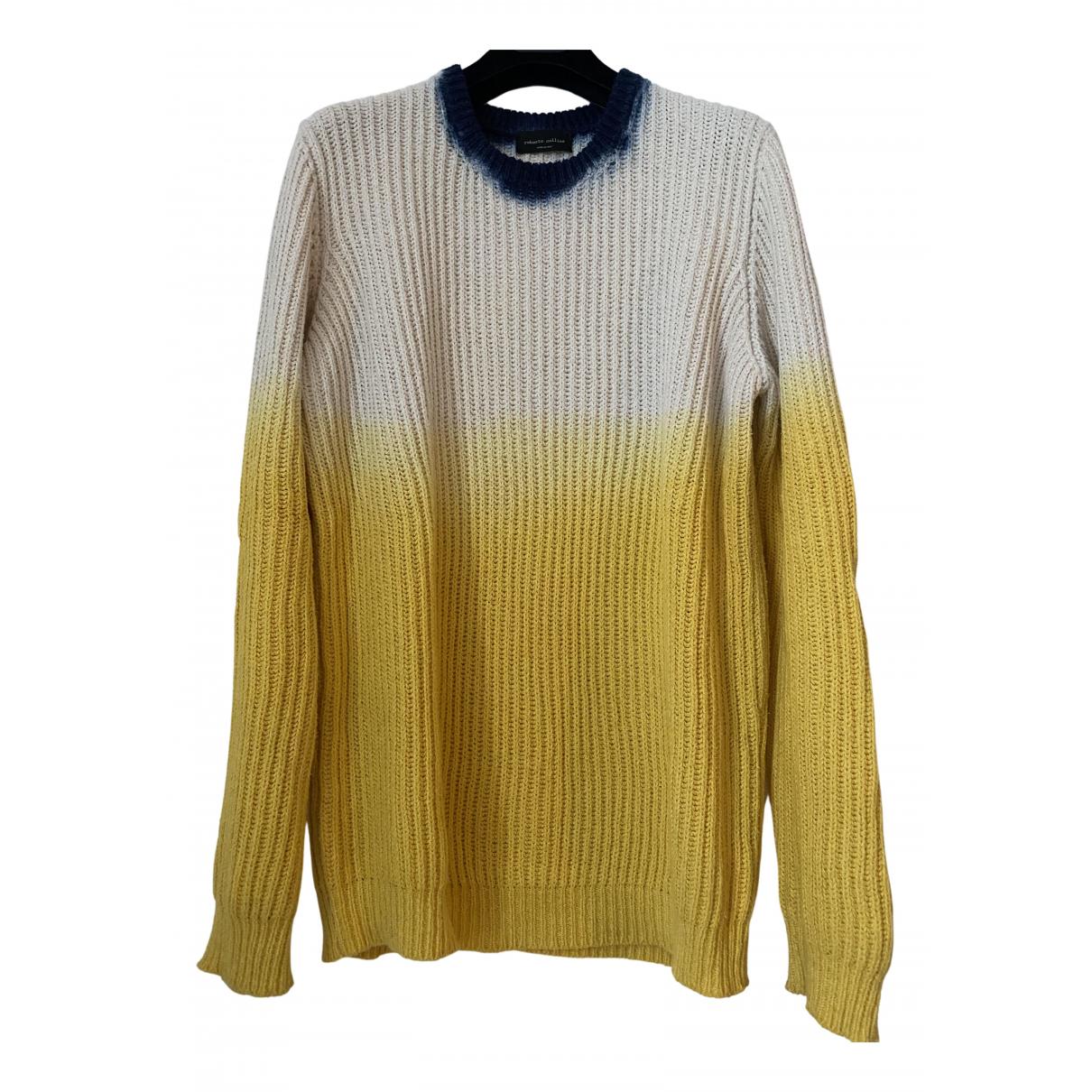 Roberto Collina N Multicolour Cotton Knitwear & Sweatshirts for Men 48 IT
