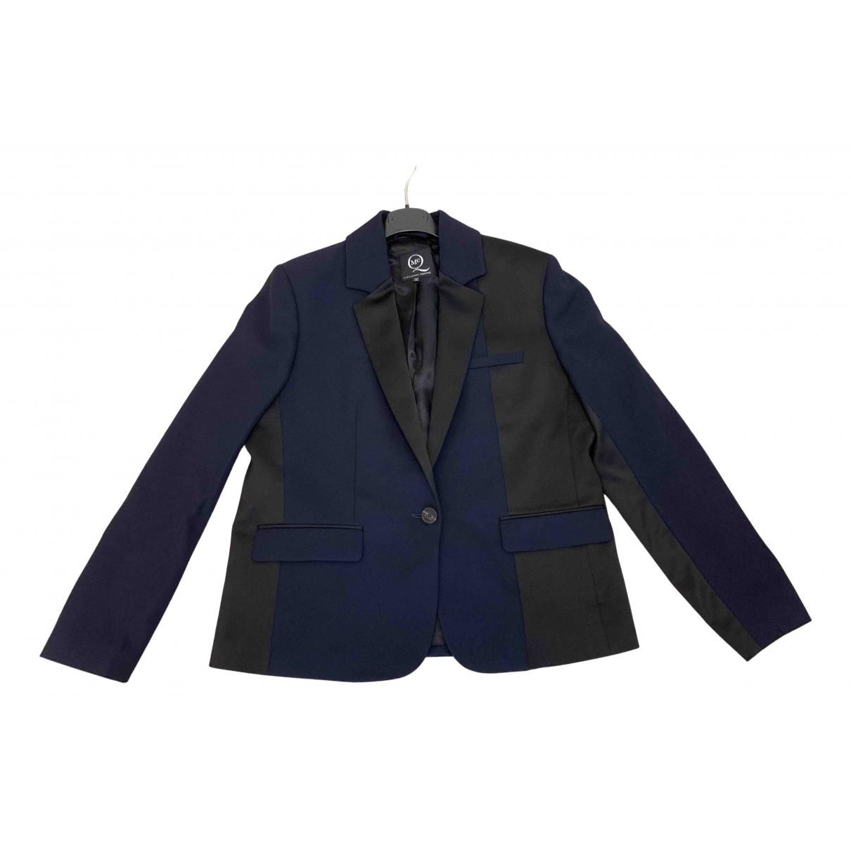 Alexander Mcqueen - Veste   pour femme en laine - bleu