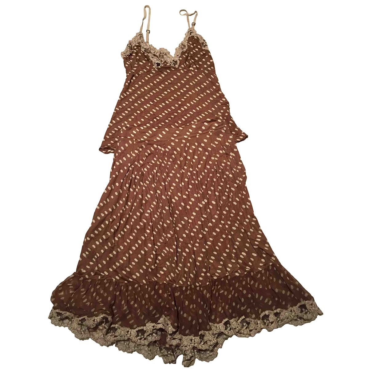 Max Mara \N Brown dress for Women 38 FR