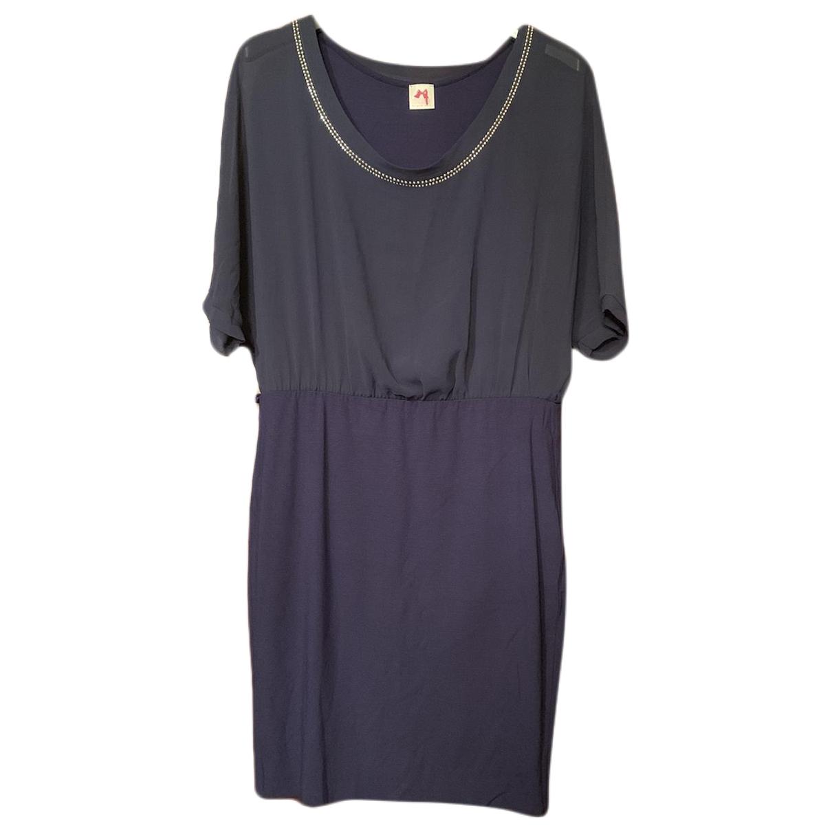 Twin Set \N Kleid in  Blau Polyester