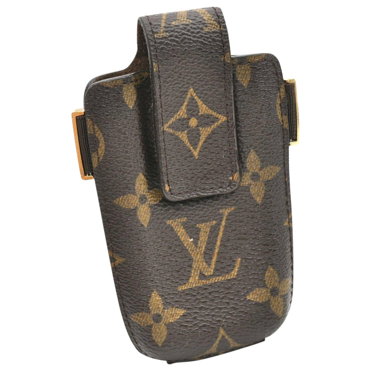 Louis Vuitton N Brown Cloth Phone charms for Women N