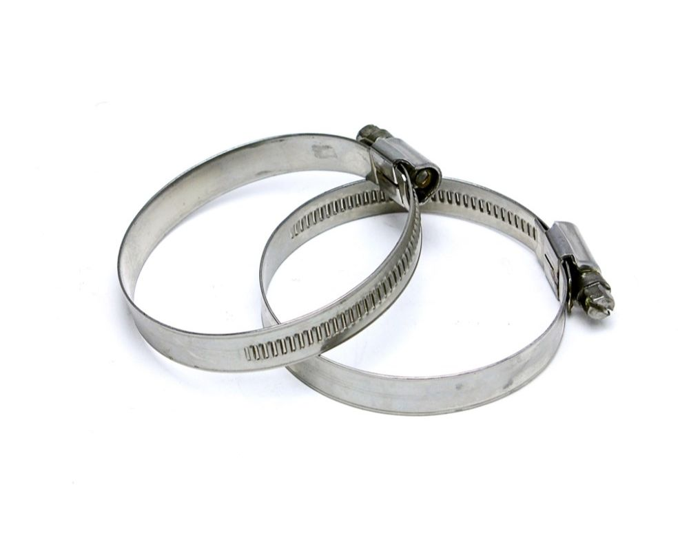 HPS Stainless Steel Embossed Hose Clamps SAE# 96 5-5/8
