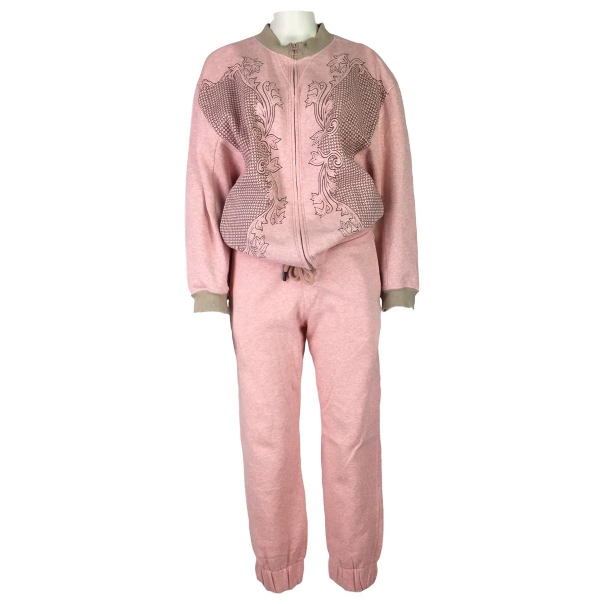 Stella Mccartney Pour Adidas \N Jacke in  Rosa Baumwolle