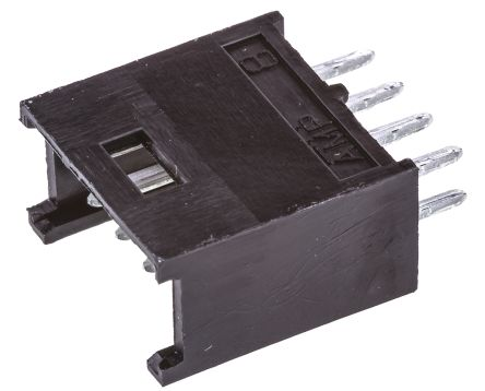 TE Connectivity , AMPMODU MOD II, 8 Way, 2 Row, Straight PCB Header (10)