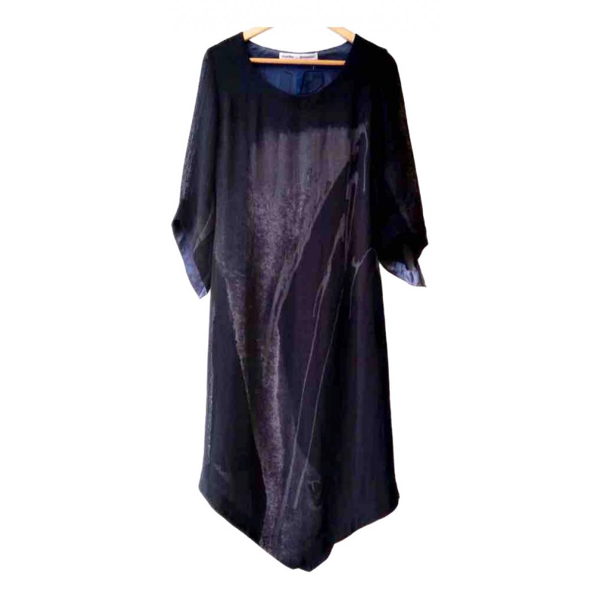 Munthe Plus Simonsen - Robe   pour femme en laine - noir