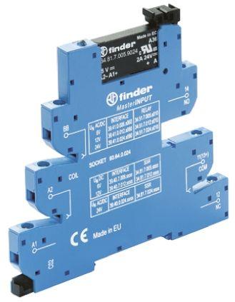 Finder Interface Module SPNO, 6A Switching Current DIN Rail