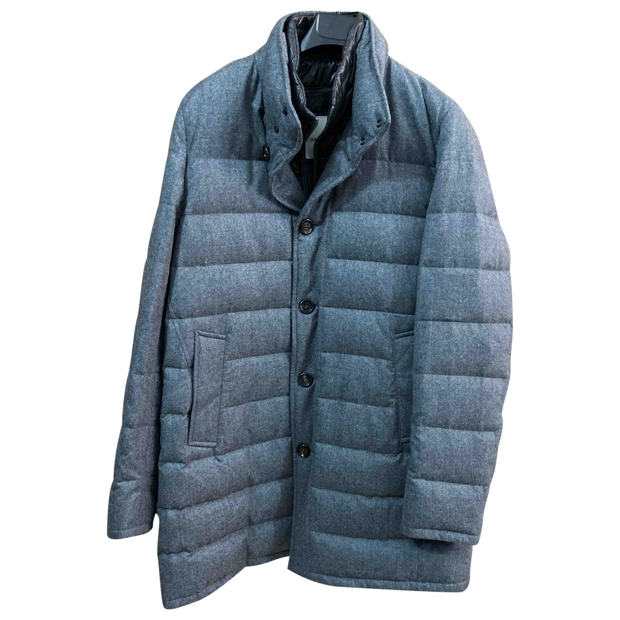 Moncler - Manteau   pour homme en laine