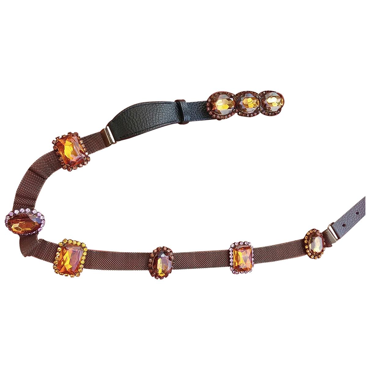 Cinturon Hippie Chic de Perlas Non Signe / Unsigned