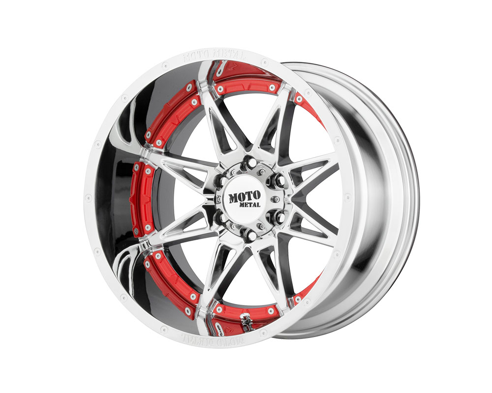 Moto Metal MO99321068218N MO993 Hydra Wheel 20x10 6x6x139.7 -18mm Chrome