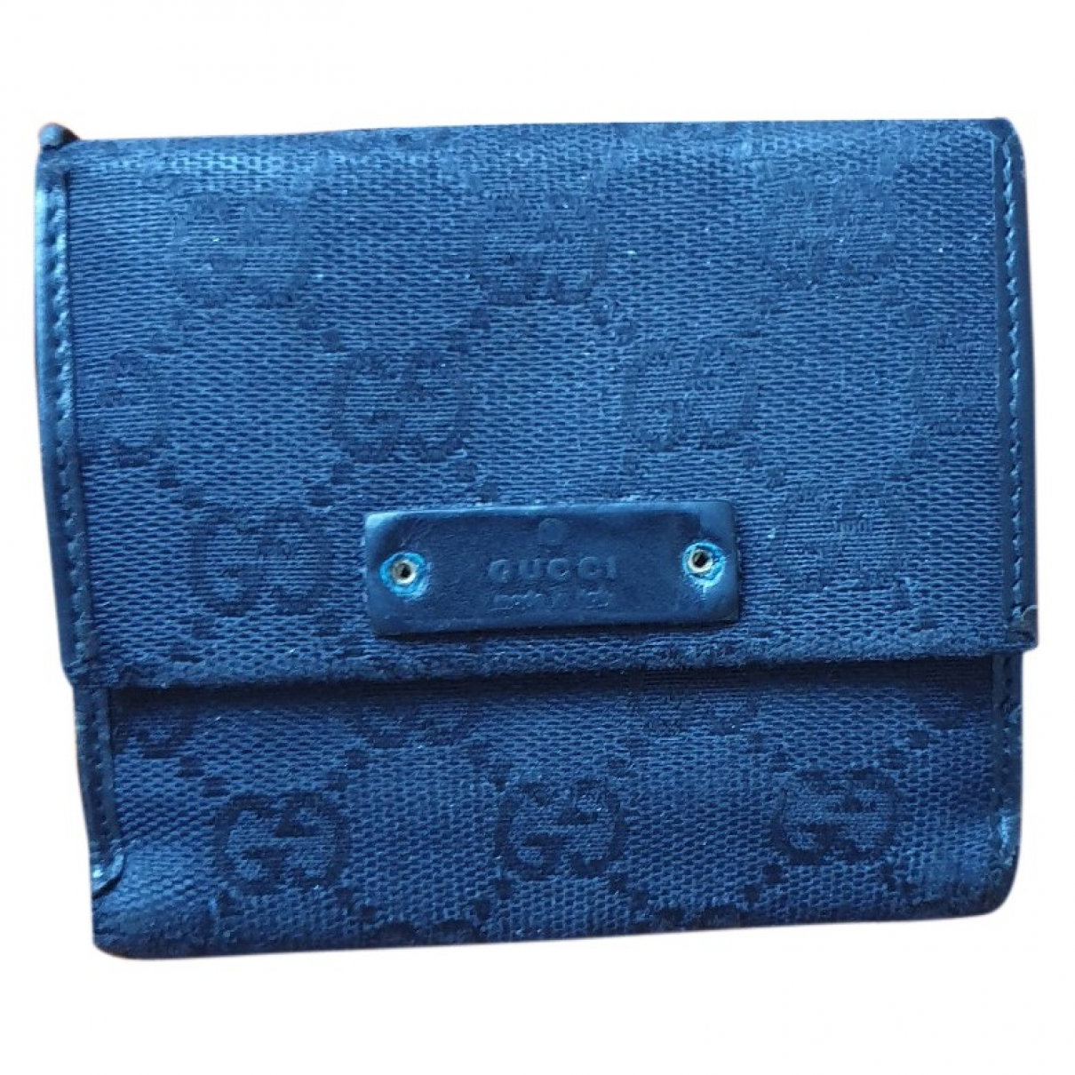 Gucci \N Black Cloth wallet for Women \N