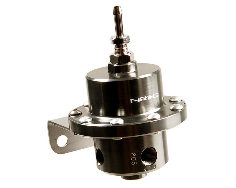 NRG FRG-200BC Black Chrome Double Diaphragm Fuel Regulator Universal