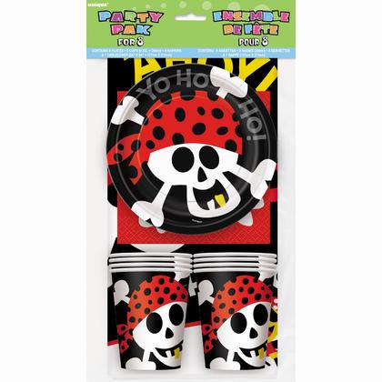 Pirate Fun Party Pack for 8 Pour la fête d'anniversaire