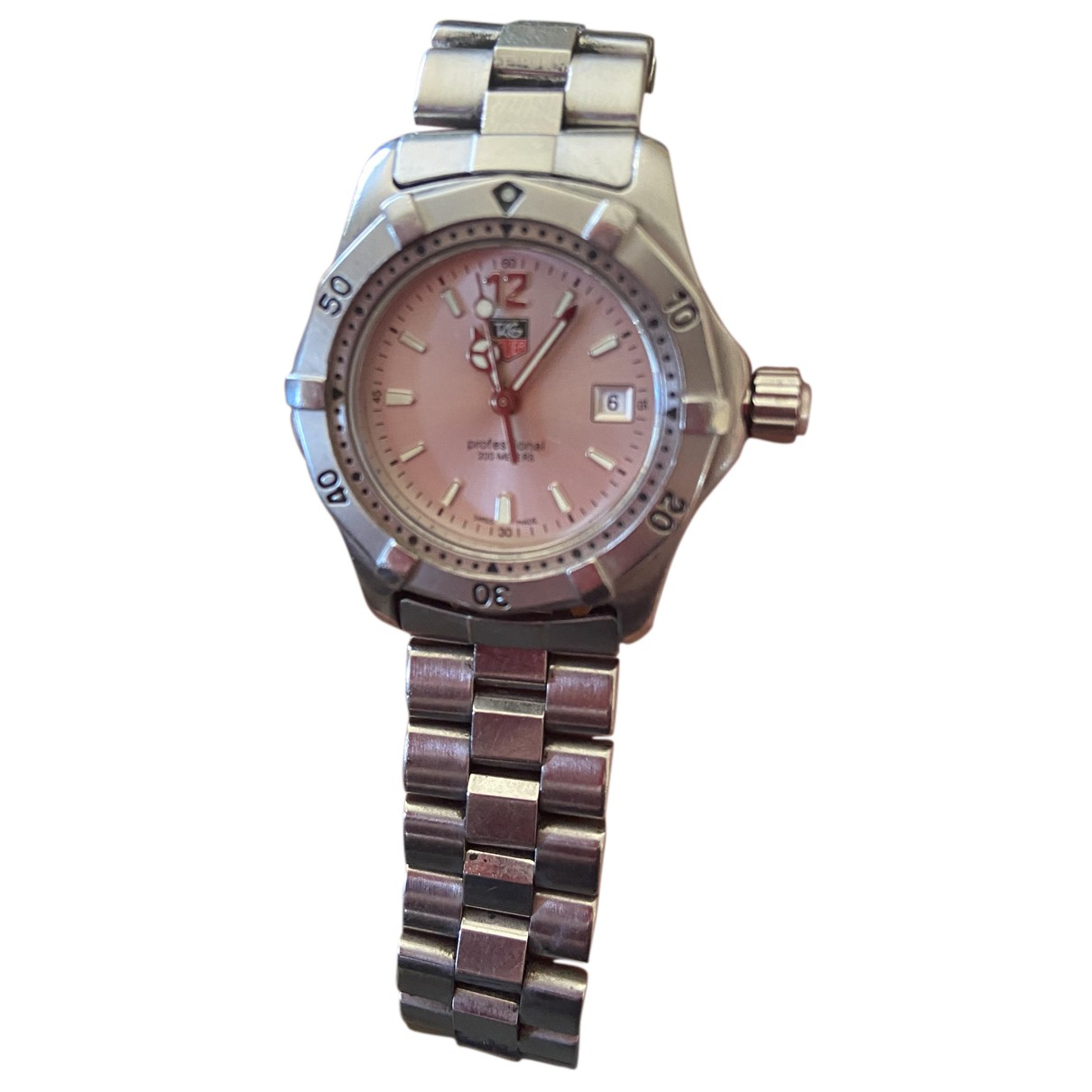 Tag Heuer Aquaracer  Silver Steel watch for Women N