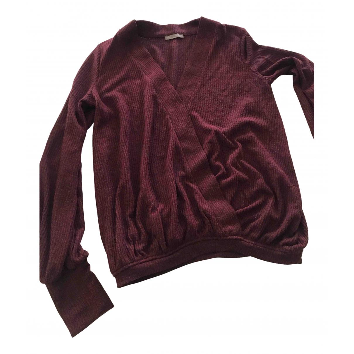 Zara N Burgundy Knitwear for Women S International