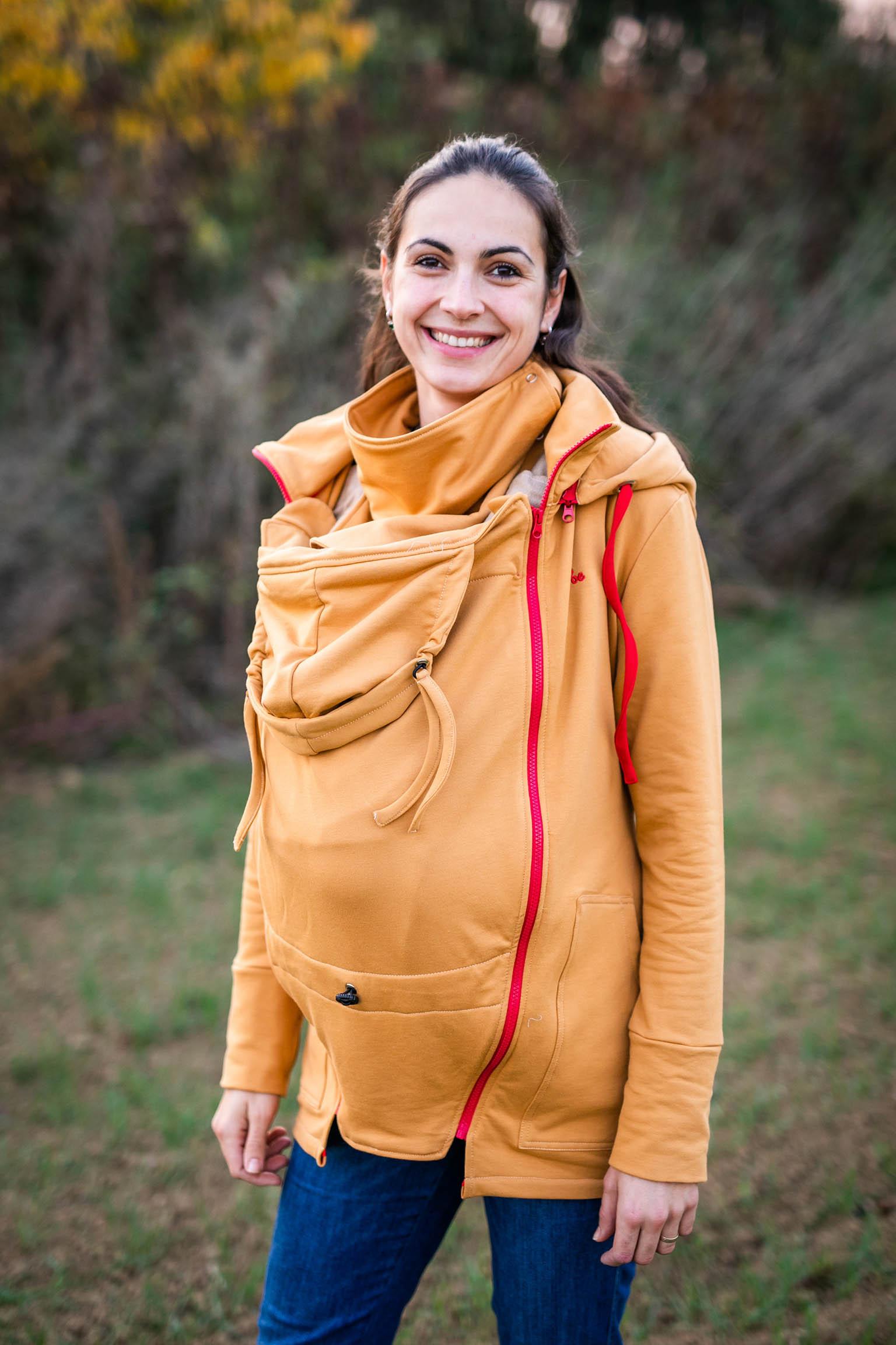 Be Lenka - Mustard Jogging Tragejacke xs Tragen eines Sweatshirts mit 3 in 1 Trainingsanzug