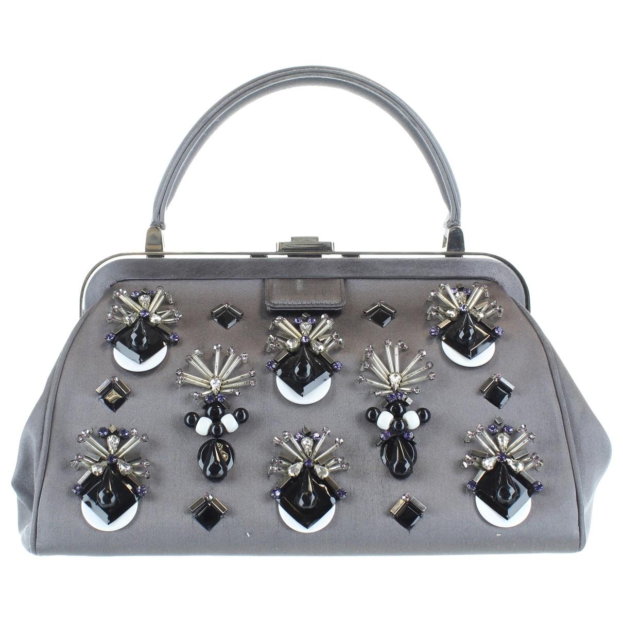 Prada \N Grey Cloth handbag for Women \N