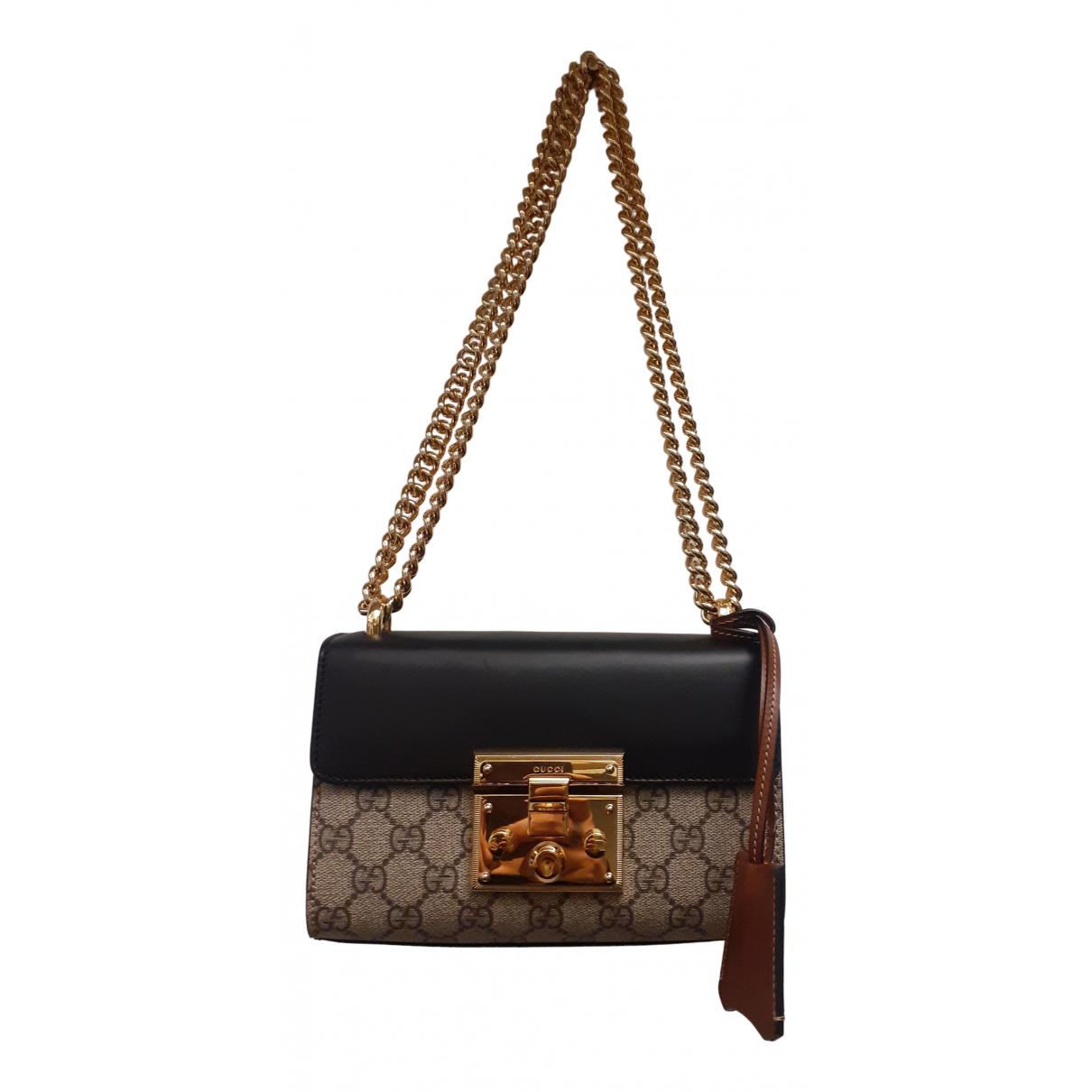 Gucci Padlock Beige Cloth handbag for Women N