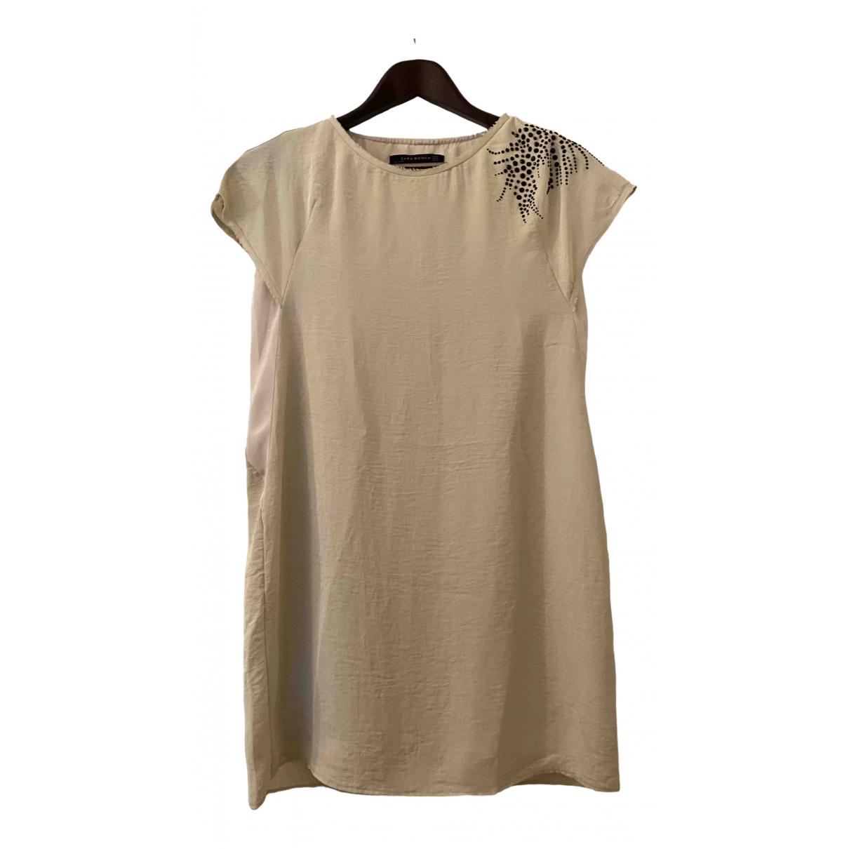 Zara \N Beige dress for Women XS International