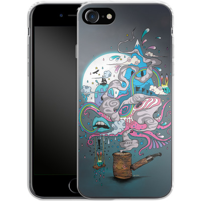Apple iPhone 7 Silikon Handyhuelle - Pipe Dreams von Mat Miller